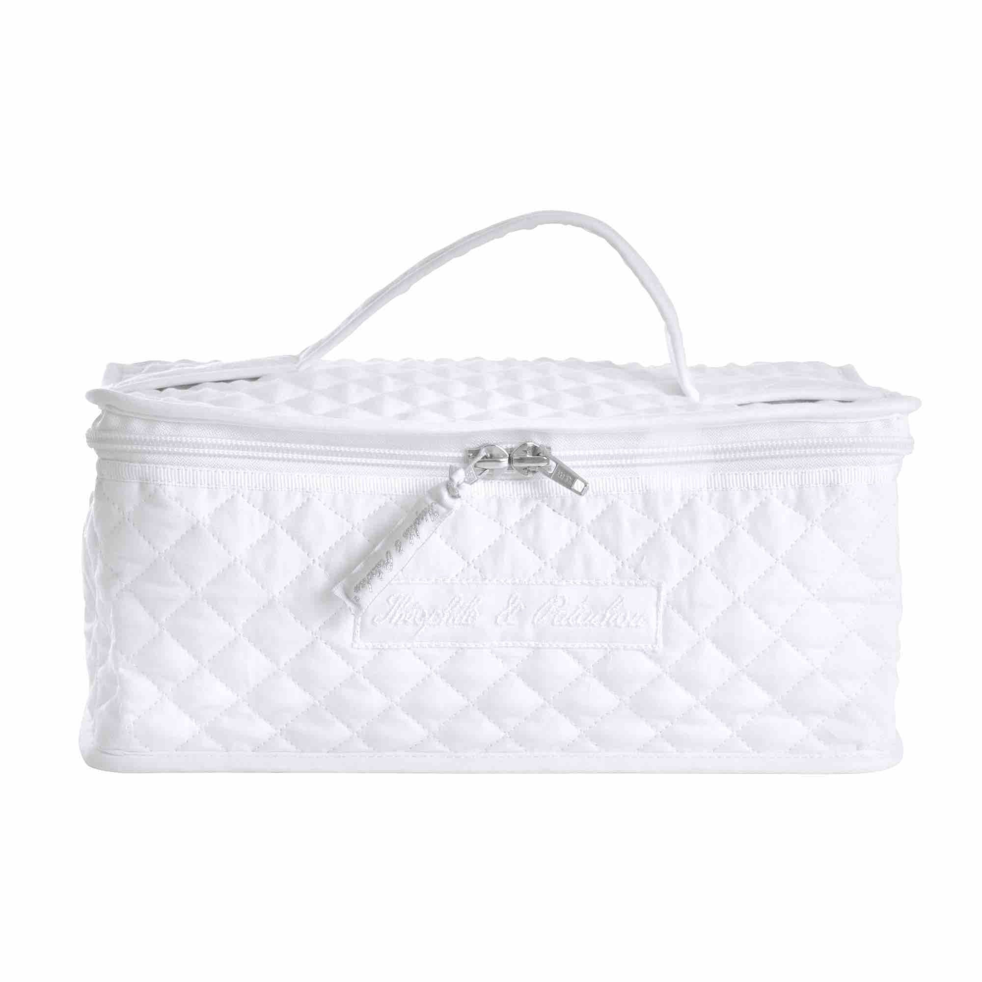 Theophile & Patachou Toiletry Bag - Royal White
