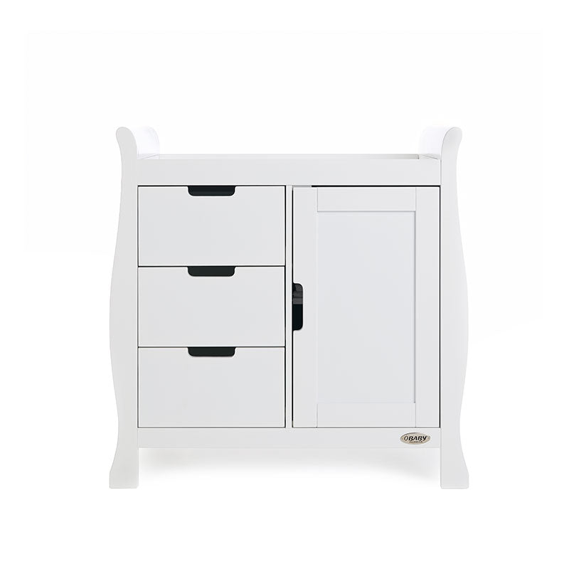 Obaby Stamford Closed Changing Unit - White