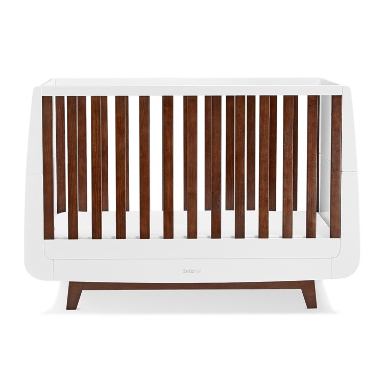 SnuzKot Luxe 2 Piece Nursery Furniture Set - Espresso