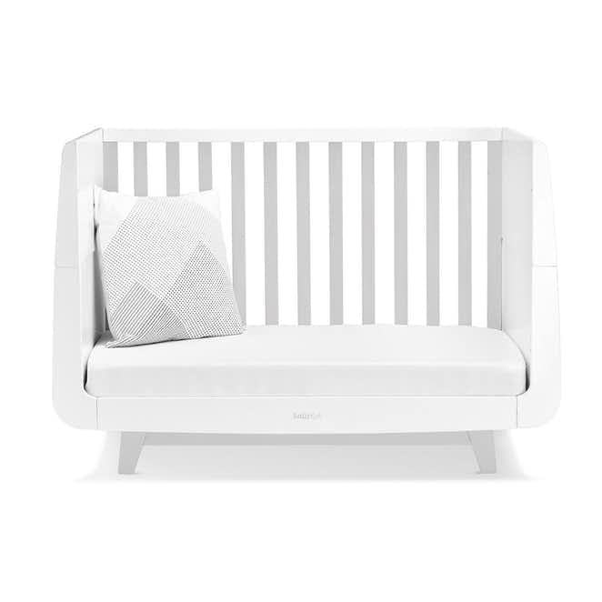 SnuzKot Luxe 2 Piece Nursery Furniture Set - Grey