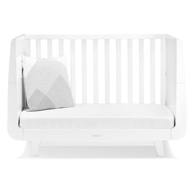 SnuzKot Luxe Cot Bed - White
