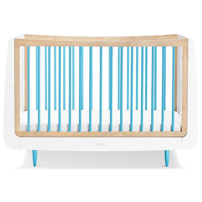 SnuzKot Skandi 2 Piece Nursery Furniture Set - Blue