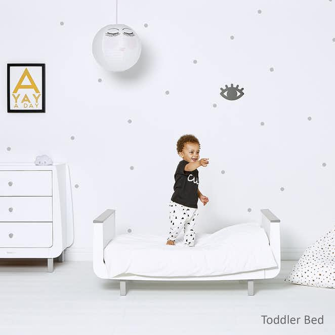 SnuzKot Mode Cot Bed - Grey
