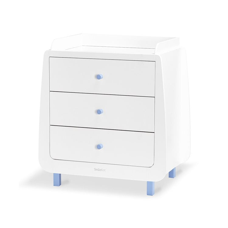 SnuzKot Mode 2 Piece Nursery Furniture Set - Blue