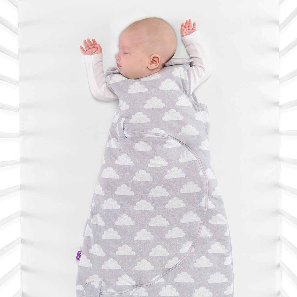 SnuzPouch Sleeping Bag 1.0 Tog (0-6 months) - Cloud Nine
