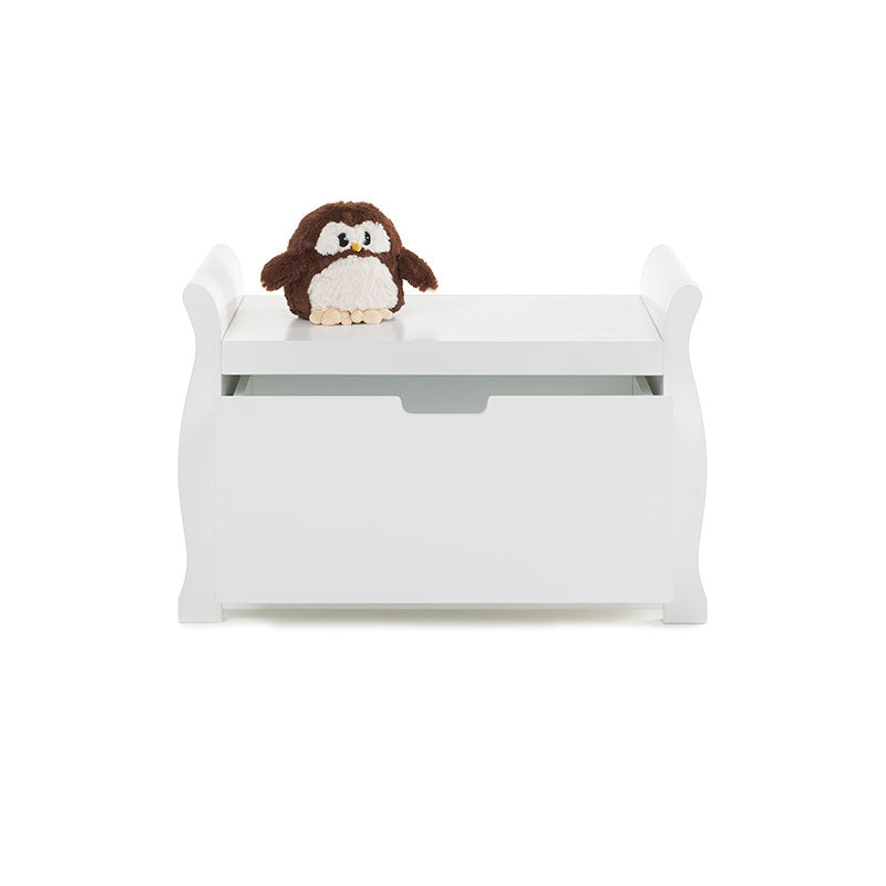 Obaby Stamford Toy Box - White