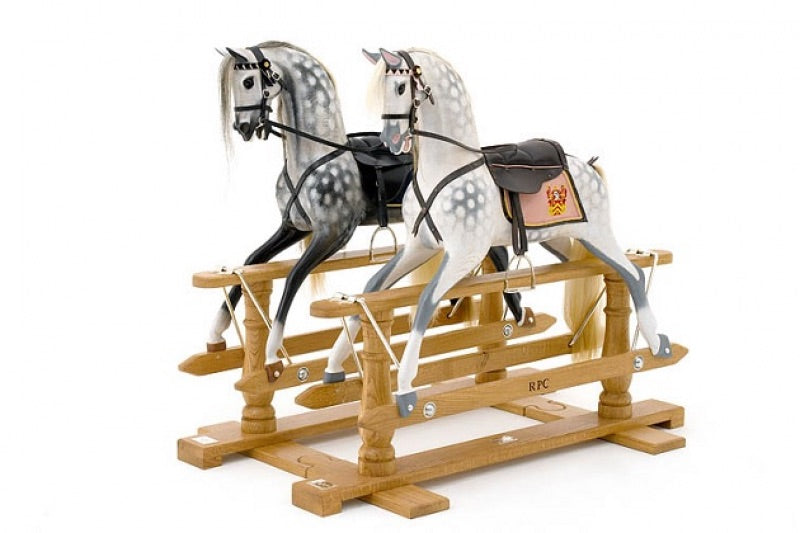 The Twins Rocking Horse