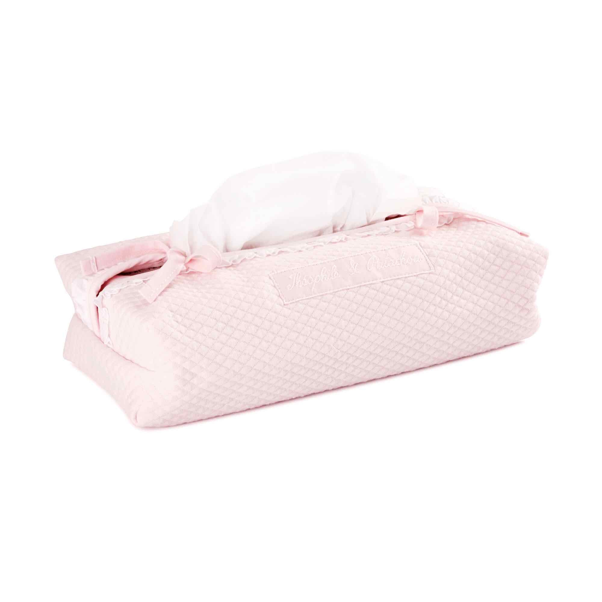 Theophile & Patachou Tissue Cover - Royal Pink