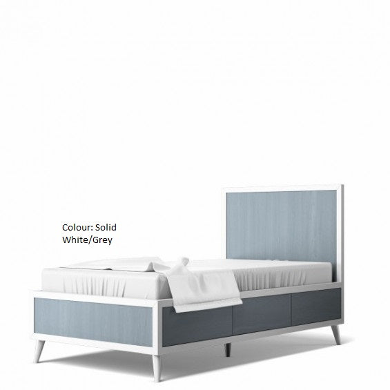 Romina New York Twin Bed