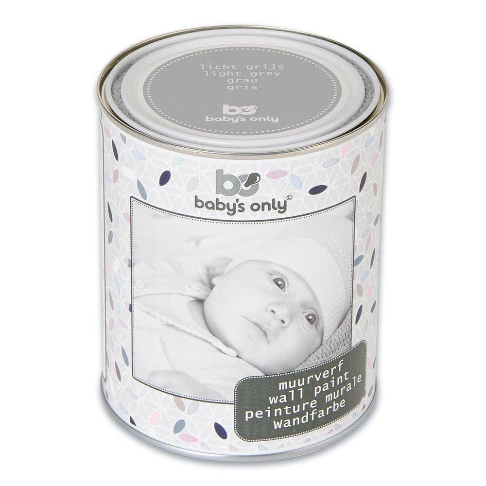 Baby's Only Wall Paint 1 Litre - Grey