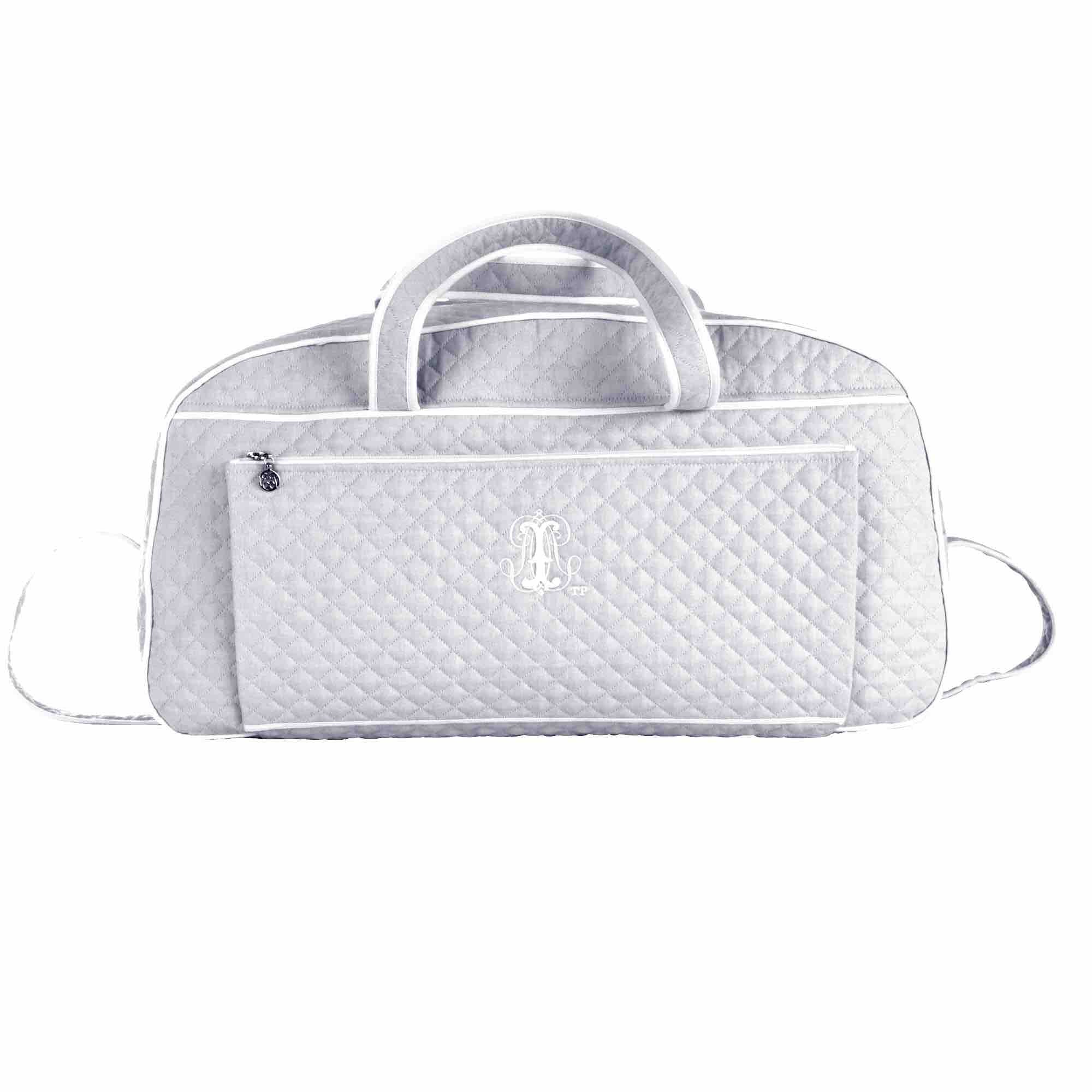 Theophile & Patachou Weekend Bag - Pearl