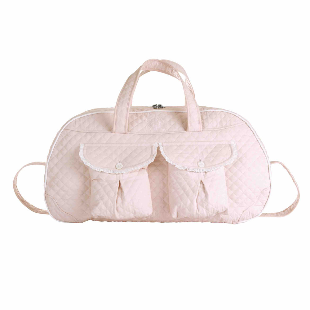 Theophile & Patachou Weekend Bag - Royal Pink