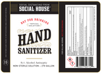 Hand Sanitizer | Social House Vodka | NC Vodka