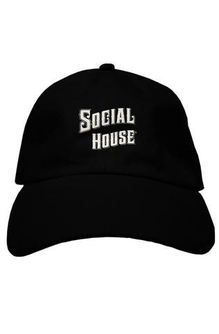 Premium Dad Fitted Hat - Stacked | Social House Vodka | Craft Vodka