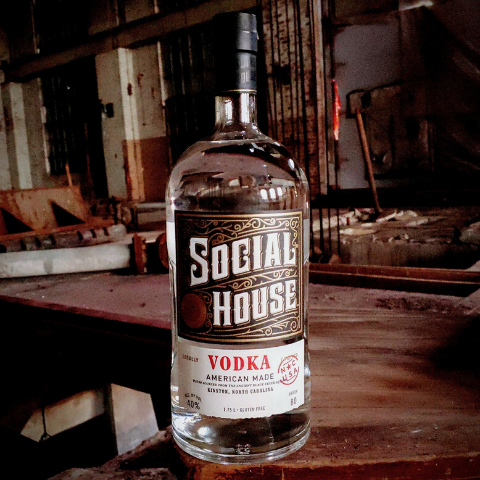SOCIAL HOUSE® Vodka (.75L)
