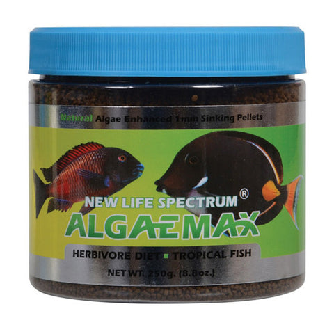 New Life Spectrum AlgaeMAX Herbivore Diet 1 mm Sinking Pellets -250g
