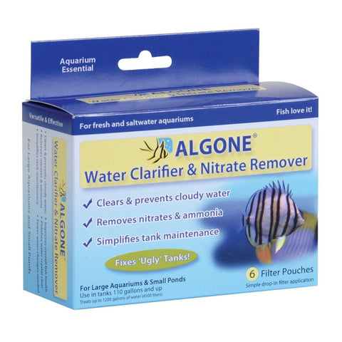 Algone Water Clarifier & Nitrate Remover Large-6pk