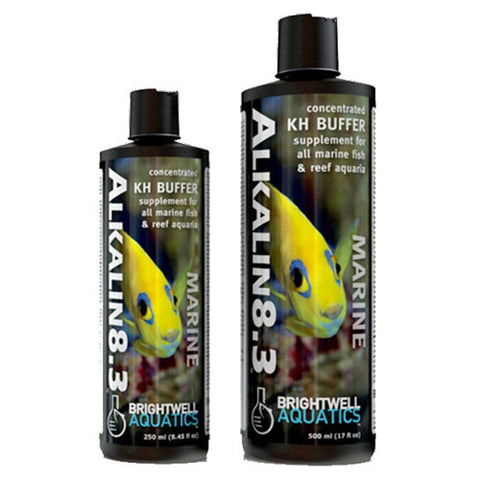 Brightwell Aquatics Alkalin8.3 - Liquid pH Buffer & Alkalinity (KH) - Builder 500ml