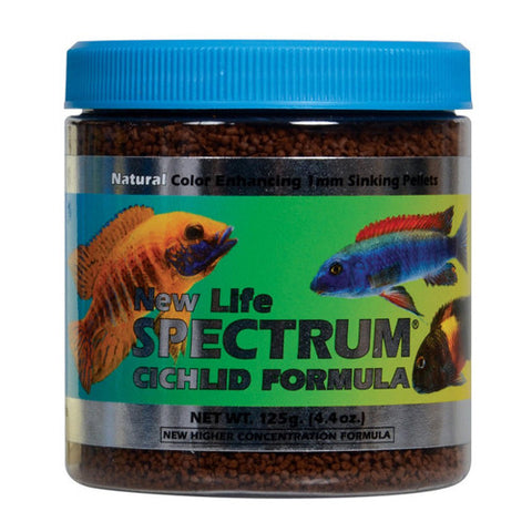 New Life Spectrum Cichlid Formula 1 mm Sinking Pellets