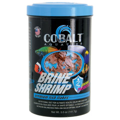 Cobalt Aquatics Brine Shrimp Flakes Premium Fish Food 141.7g