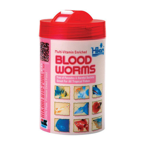 Hikari Bio-Pure Freeze Dried Blood Worms 12g