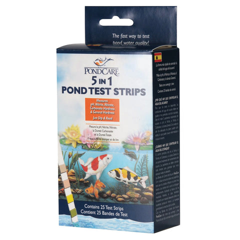 PondCare 5 in 1 Pond Test strips