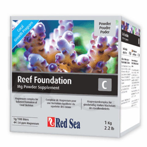 Red Sea Foundation C Supplement 1kg (Magnesium)
