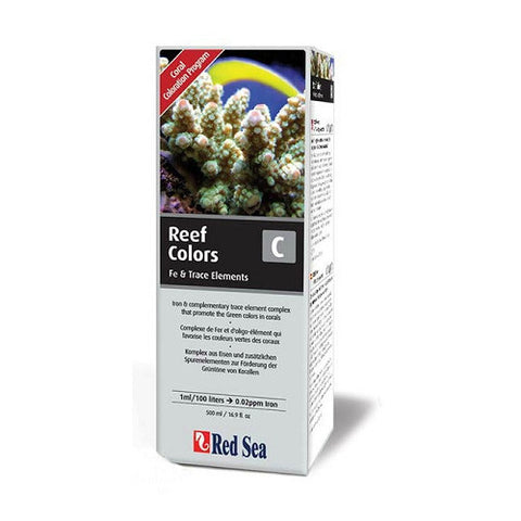 Red Sea Coral Colors C Supplement (Iron/Trace Elements) - 500ml