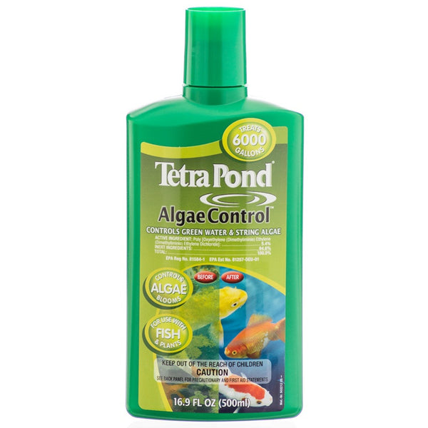Tetra pond algae control 500ml aquarium supplies nz for Koi pond algae control