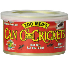 Zoo Med Can O Mini Crickets 35g