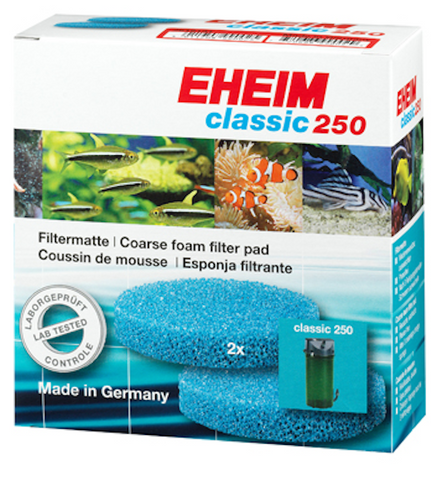 Eheim Coarse Filter Pads 250 (2213) Canister Filter-2pk
