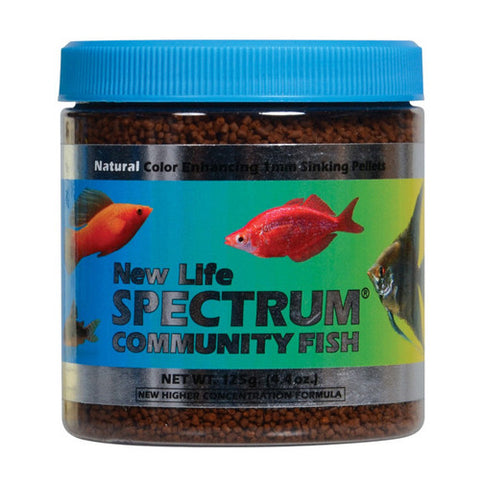 New Life Spectrum Community Fish Formula 1 mm Sinking Pellets