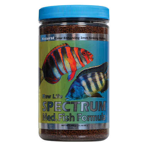 New Life Spectrum Medium Fish Formula-2mm Sinking 500g