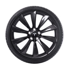 "Load image into Gallery viewer, 21"" Turbine Wheel and Winter Tire Package"