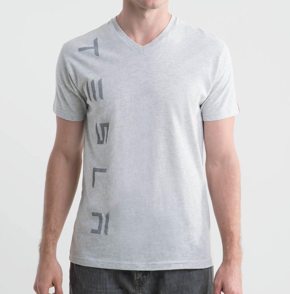 Men's Racing Stripe V-Neck