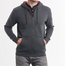 Load image into Gallery viewer, Men's Wordmark Hoodie, Gray