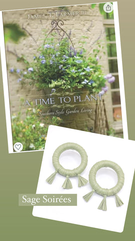 A Time to Plant Coffee Table Book + Sage Soirees