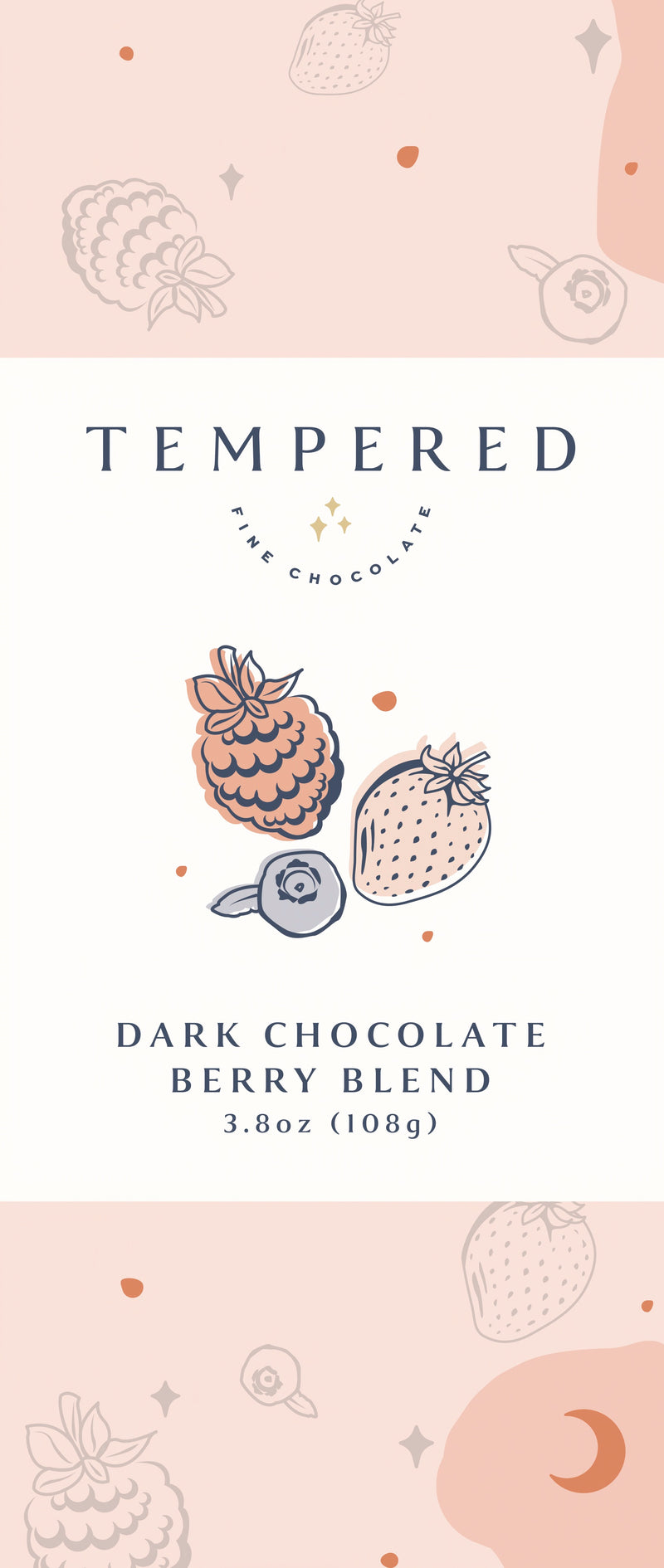 Dark Chocolate Berry Blend Bar