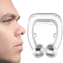 Load image into Gallery viewer, Silicone Magnetic  Anti-Snoring Device
