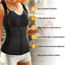 Load image into Gallery viewer, 2021 Women Waist Trainer Vest With Zipper