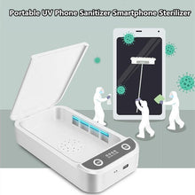 Load image into Gallery viewer, Portable UV Phone Sanitizer Smartphone Sterilizer