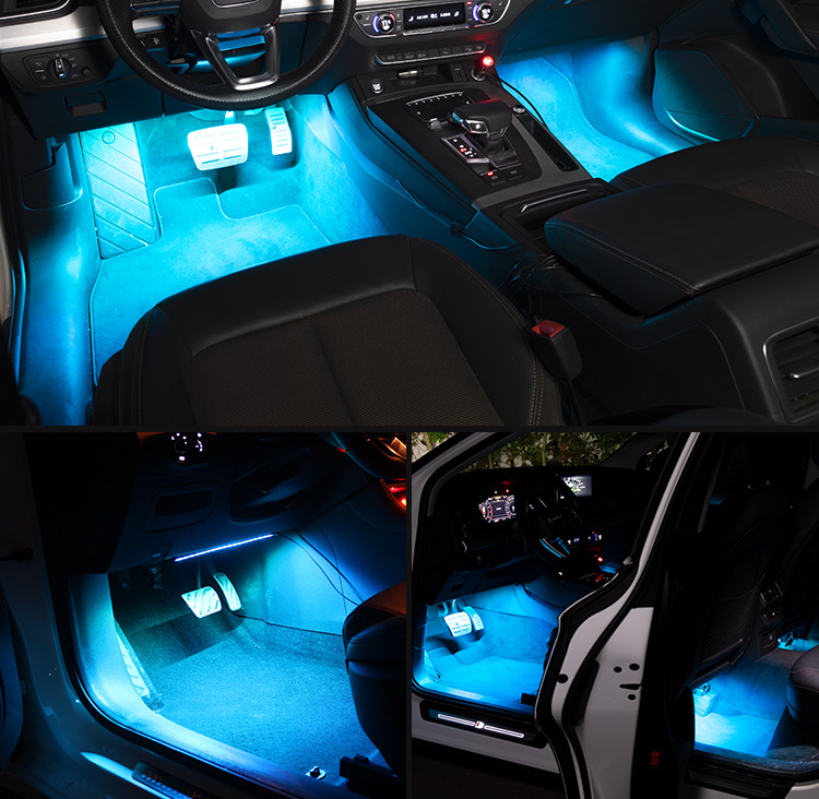 Car Interior Atmosphere LED RGB Strip Light