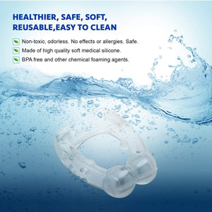 Silicone Magnetic  Anti-Snoring Device