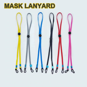 DIY Multifunctional Adjustable Windproof Rope / Face Cover Lanyard