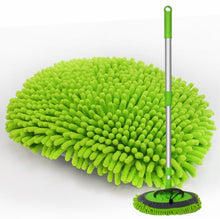 Load image into Gallery viewer, 2 in 1 Microfiber Car Wash Brush Mop Mitt Set
