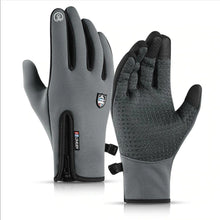 Load image into Gallery viewer, Waterproof Fleece Thermal Ski Gloves