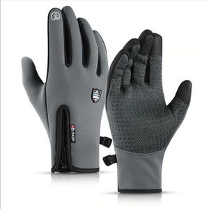 Waterproof Fleece Thermal Ski Gloves