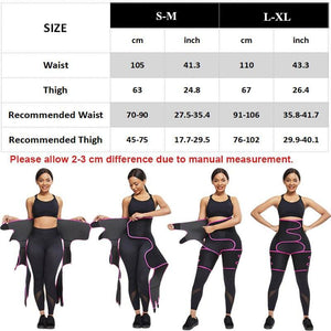 2021 latest Leg Shaper Tightening Slimming Sheath Belt