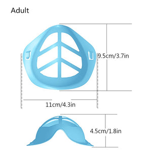 Silicone Mask Bracket Holder for Adults and Children