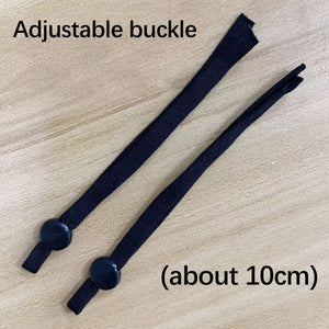 High elastic flat ear strap rope adjustment buckle